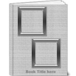 Black and Silver 9x12 Deluxe Book - 9x12 Deluxe Photo Book (20 pages)