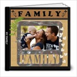 My Family Love 8x8 60 Page Photo Book - 8x8 Photo Book (60 pages)