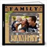 My Family Love 12x12 60 Page Photo Book - 12x12 Photo Book (60 pages)