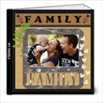 My Family Love 8x8 39 Page Photo Book - 8x8 Photo Book (39 pages)