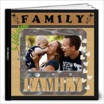 My Family Love 12x12 30 Page Photo Book - 12x12 Photo Book (30 pages)
