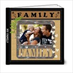 My Family Love 6x6 20 Page Photo Book - 6x6 Photo Book (20 pages)