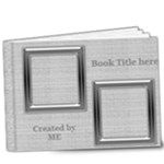 Black and Silver Deluxe 9x7 Book (20 pages) - 9x7 Deluxe Photo Book (20 pages)