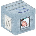 Baby Boy Memory Keeper 12  Storage Stool - Storage Stool 12