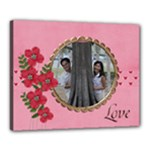 Canvas 20  x 16  (Stretched): LOVE