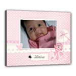 Canvas 20  x 16  (Stretched): Precious Lil One -Girl