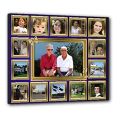 My Family 24x20 Stretched Canvas - Canvas 24  x 20  (Stretched)