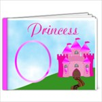 Princess Photo Book - 7x5 Photo Book (20 pages)