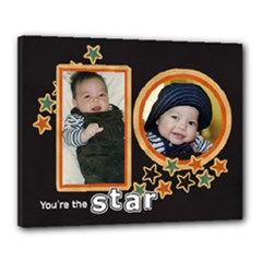Canvas 20  x 16  (Stretched): You re the Star