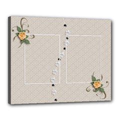 Canvas 20  x 16  (Stretched): Wedding Love2