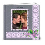 Delightful shades of Violet 6x6 (20 page) Book - 6x6 Photo Book (20 pages)