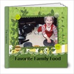 Cookbook - 8x8 Photo Book (20 pages)