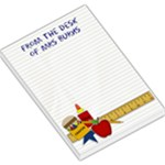 mrs burns - Large Memo Pads