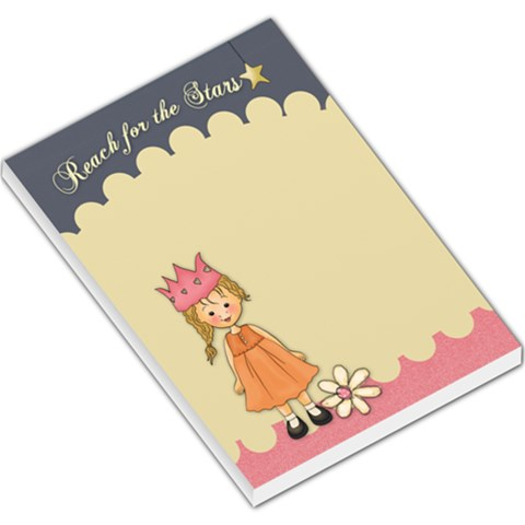 Reach For The Stars No Photo Pad By Lillyskite   Large Memo Pads   6da16wt856vh   Www Artscow Com