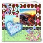Rainbow Garden 12x12 Book - 12x12 Photo Book (20 pages)