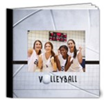 8x8 Deluxe Photo Book- Volleyball - 8x8 Deluxe Photo Book (20 pages)