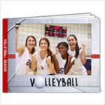 9x7 Volleyball Photo Book - 9x7 Photo Book (20 pages)