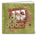 Shabby Christmas 8x8 Deluxe Album - 8x8 Deluxe Photo Book (20 pages)