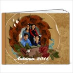 9x7 Autumn/Fall/Thanksgiving Photo Book (30) - 9x7 Photo Book (30 pages)