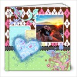 Rainbow Garden 8x8 Book - 8x8 Photo Book (20 pages)