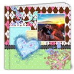 Rainbow Garden Deluxe 8x8 Book - 8x8 Deluxe Photo Book (20 pages)