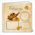 Thanksgiving Sample Book 8x8 20 pg - 8x8 Photo Book (20 pages)