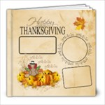 Thanksgiving Book 8x8 20 pg - 8x8 Photo Book (20 pages)