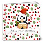 Penguin Cover Christmas Book - 8x8 Photo Book (39 pages)