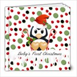 Baby s First Christmas Book - 8x8 Photo Book (39 pages)