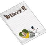 Winter Large Memo Pad - Large Memo Pads