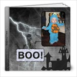 Boo! Halloween 8x8 20 Page Photo Book - 8x8 Photo Book (20 pages)