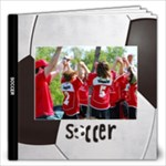 Soccer Photo Book-12x12 (20 pages) - 12x12 Photo Book (20 pages)