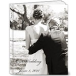 Our Wedding - 8x10 Deluxe Photo Book (20 pages)