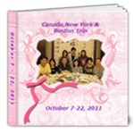 Canada, Boston &NY Oct 7-22,2011 - 8x8 Deluxe Photo Book (20 pages)