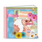 Flower kids  - 6x6 Deluxe Photo Book (20 pages)