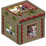 Merry Christmas 12  Storage Stool - Storage Stool 12