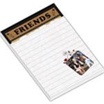 Friends Hearts Large Memo Pad - Large Memo Pads