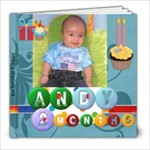 Andy 2 mo - 8x8 Photo Book (20 pages)