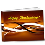 Happy Thanksgiving deluxe photobook - 9x7 Deluxe Photo Book (20 pages)