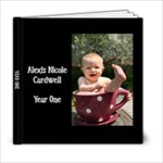 6x6 Lexi Year One - 6x6 Photo Book (20 pages)