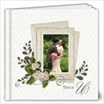 12 x12 (20 pages) : This Us- Wedding - 12x12 Photo Book (20 pages)