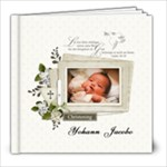 8x8 (20 pages) : Baptism/Christening/Dedication - 8x8 Photo Book (20 pages)