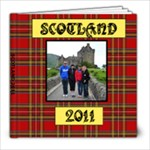 scotland 2011 regular - 8x8 Photo Book (60 pages)