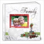 Family christmas 8x8 20 pg - 8x8 Photo Book (20 pages)