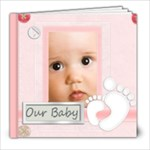 baby book 60pp - 8x8 Photo Book (60 pages)