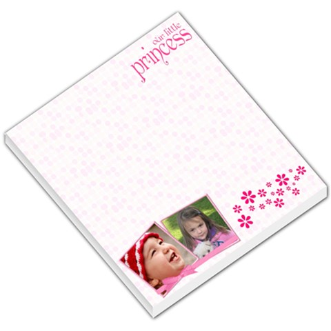 Little Princess   Small Memo Pad By Picklestar Scraps   Small Memo Pads   Bc6l1qhdsnjs   Www Artscow Com