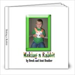 Brocks Rabbitt - 8x8 Photo Book (20 pages)