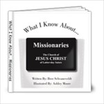 Missionary - 6x6 Photo Book (20 pages)