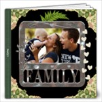 Family 12x12 20 Page Photo Book - 12x12 Photo Book (20 pages)