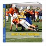 Daisy Football - 8x8 Photo Book (80 pages)